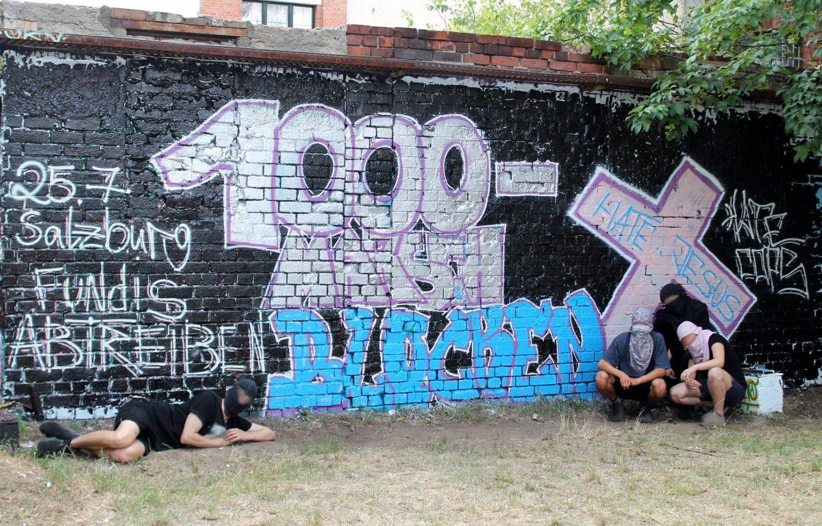 More feminist street art