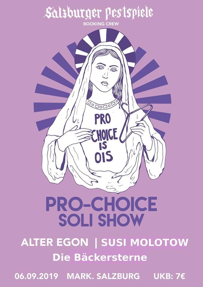 Soli-Konzert für Pro Choice